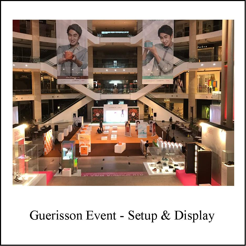 Guerisson event Setup and Display